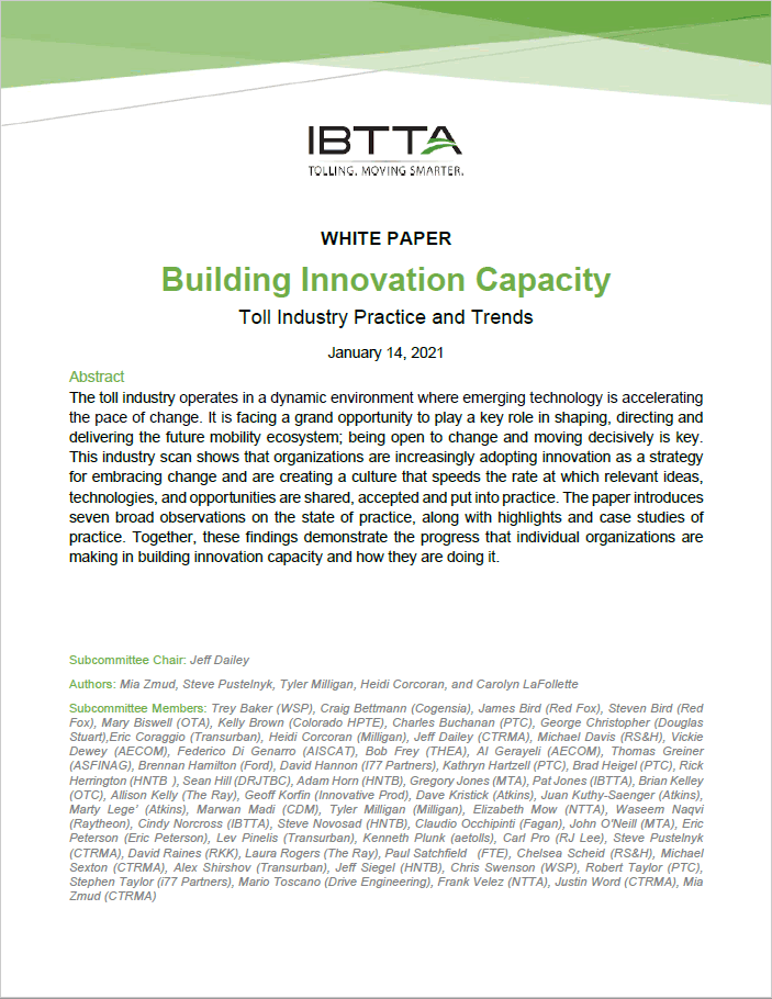 2020 Innovation Capacity White Paper