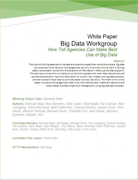 Big Data White Paper 2019